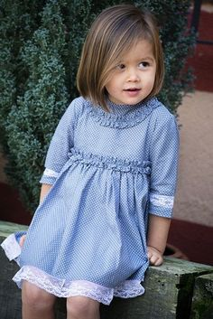 Little Girl Outfits, Cute Outfits For Kids, Boy Outfits, Fashion Sewing, Kids Fashion, Childrens Haircuts, Mode Rose, Baby Sewing, Kids Wear