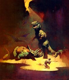 Orn / Tyrannosaurus Rex / 1969 (Frank Frazetta)