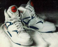 Reebok pumps came out in the early 90's but still vintage!