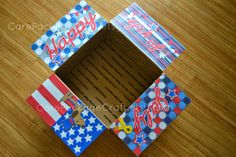 Happy 4th of July Care Package #milso #carepackage #carepackageideas #deployment #4thofjuly