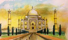 11 Colourful Arty Visions of the Taj Mahal