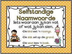 Afrikaans Woordsoorte Muurkaarte vir jou klas. Gratis; mag nie verkoop word nie. Early Education, Kids Education, Preschool Cutting Practice, Afrikaans Language, School Posters, Teaching Aids, Home Schooling, School Projects, Phonics
