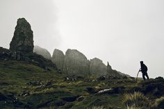 Scotland, Old Man of Storr, Isle of Skye