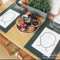 Maybe giving them an example of certain emotions and them re creating with… This! Maybe giving them an example of certain emotions and them re creating with play dohLoose Parts & Emotions Montessori activity for preschool Montessori Activities, Infant Activities, Learning Activities, Activities For Kids, Crafts For Kids, Body Parts Preschool Activities, Crafts Toddlers, Body Preschool, Children Crafts