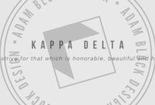 The best custom designs for Kappa Delta, since 2008.   Adam Block Design   Custom Greek Apparel & Sorority Clothes   www.adamblockdesign.com