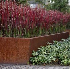 Die 11 Besten Bilder Von Hochbeet Cortenstahl Backyard Patio
