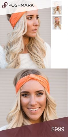 Coming soon! Moon Shadow Turband in Peach The original Three Bird Nest Bestseller! Make every hair day an awesome one with this beautiful soft and wide Turban style Headband. Three Bird Nest Accessories Hair Accessories