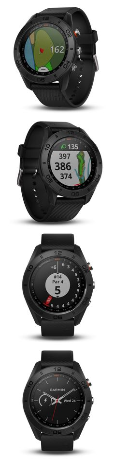 GPS and Running Watches 75230: Garmin Approach S60 Gps Golf Watch Black With Black Silicone Band 010-01702-00 -> BUY IT NOW ONLY: $399.99 on eBay!