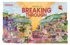 dougfuchs.com  The final map poster image. Stop by Firehouse Theatre to pick up your 24x36 inch copy!