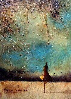 Job Klijn. Abstract art. 'Nostalgia' from the Emigrate series