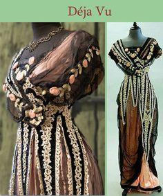 Image result for afternoon dress 1907