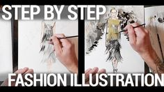 STEP BY STEP FASHION ILLUSTRATION TUTORIAL