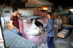 Broodbakkerij in Damascus. Foto: Marco in 't Veldt