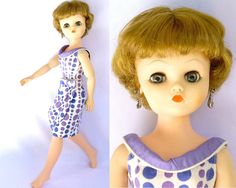 """Vintage 50s - 60s Deluxe Reading Supermarket Doll - 21"""" Candy Fashion Doll"""