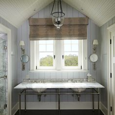 Beadboard Bathrooms Design Ideas, Pictures, Remodel, and Decor - page 6