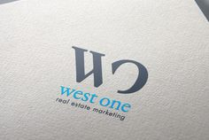 West One Real Estate Marketing Real Estate Marketing, Company Logo, Letters, Letter, Lettering, Calligraphy