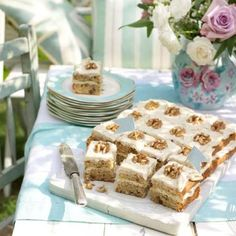 We gave this classic coffee and walnut combination a flavourful twist.
