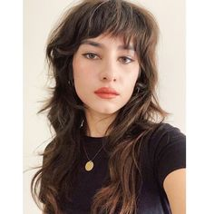 Mullet Haircut, Mullet Hairstyle, Hairstyle Ideas, Hairstyles With Bangs, Haircuts For Long Hair, Long Shaggy Haircuts, Boho Hairstyles, Wedding Hairstyles, Short Grunge Hair