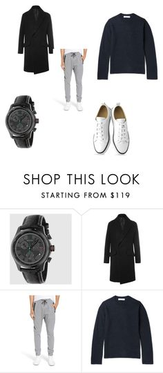 """""""Men's Fall"""" by allpeoplewilltravel on Polyvore featuring Gucci, Wooyoungmi, Zanerobe, Comme des Garçons SHIRT, men's fashion and menswear"""