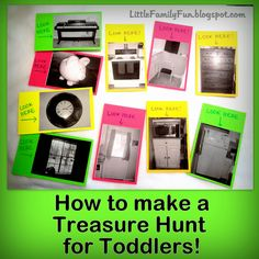 Little Family Fun: Treasure Hunt