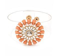 Gabby Bracelet in Crystal Clear on Emma Stine Limited