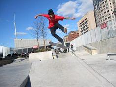 New York City's Best Skate Parks, in Downtown Manhattan Urban Setting, Skate Park, Preston, Manhattan, New York City, Nyc, Bike, Skateboarding, Image