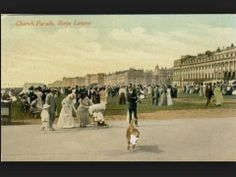 Vintage photo of Church Parade, Hove Lawns, date unknown