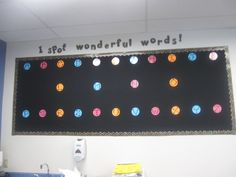 I might do this for my kids work wall. I spot wonderful work! Polka Dot Letters, Polka Dot Theme, Polka Dots, Classroom Design, Classroom Themes, Classroom Organization, Teacher Resources, Teaching Ideas, Interactive Word Wall