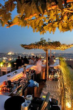 Dine at the informal Marmara Cafe or hit the Med-Scando rooftop hot spot, Mikla. #Jetsetter The Marmara Pera (Istanbul, Turkey)