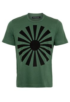 Camiseta Herchcovitch Sol Japão Verde -R$159.90