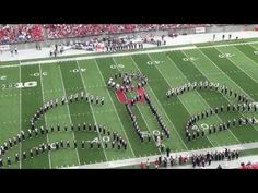 "▶ Ohio State Marching Band ""Disney Tribute"" Halftime vs Buffalo: Aug. 31, 2013 - YouTube"