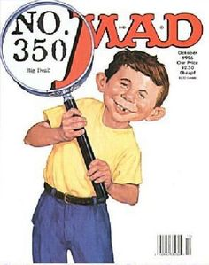 Cover for MAD (EC 1952 serie) #350 - OCTOBER 1996