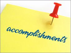 Defining Your Accomplishments