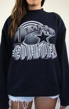 Vintage 90s Dallas Cowboys Star Sweatshirt 8cb38659c
