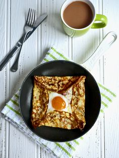 Ham, Egg and Cheese Crêpes - The perfect savoury pancake for Shrove Tuesday