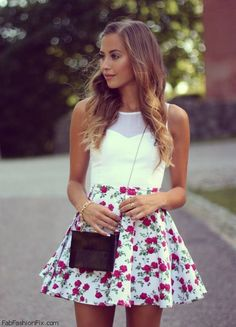 I love this floral print!