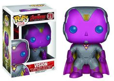 POP! Marvel Avengers Age of Ultron Vision #71 Vinyl Bobble-Head Funko #Marvel