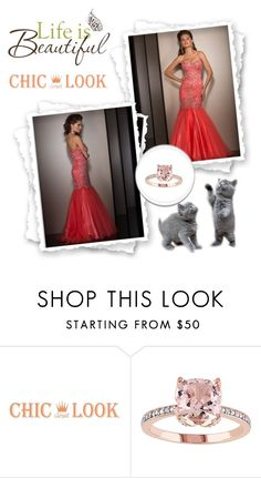"""robe de soirée-prom dress-32"" by sophie-robelle on Polyvore featuring Brewster Home Fashions"
