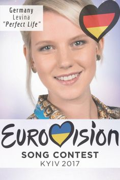 """Eurovision Song Contest Germany – """"Perfect Life"""" By Levina - Geburtstag Eurovision 2017, Eurovision Song Contest, Eurovision Songs, All Kinds Of Everything, Music For Studying, Pop Songs, Piano Lessons, Pop Music, All About Time"""