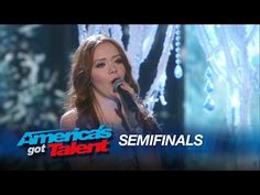 Daniella Mass sings 'Crying' on America's Got Talent Semifinals