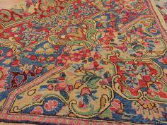 Persian Kirman rug, check it out soon at JessiesRugs.com