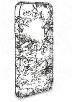 iPhone 6 Black Rose Snap-On Case - Harmony Collection