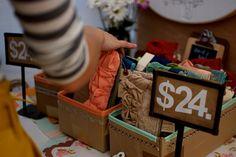 Renegade Craft Fair - price display