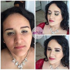 💋Antes-después #yuka_make_up 😘 Realiza tu cita de belleza 📱6699415513