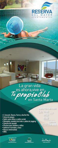 #Novoclick esta con @ConinsaRamonH #Apartamentos de 79.80, 89.30 y 93.82 M2 #SantaMarta