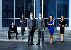 """""""Suits"""". A great summer show about a guy with photographic memory who becomes a """"lawyer"""". My favorite thing is when the 2 main characters (Harvey & Mike) recite movie quotes."""
