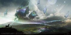 コイツは凄い!スマホ『メビウス ファイナルファンタジー』の驚異的なスクリーンショット&コンセプトアートが公開! : ゲームかなー