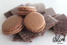 ¿Qué puede ser mejor que el chocolate? ¡Un macaron de chocolate! #Mink #Macaron