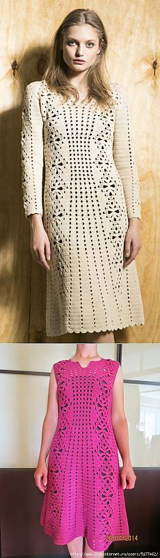 Дорога в счастье. Платье крючком от Veronica Beard