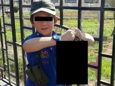 Khaled Sharrouf: Ein Terroristen-Kind hält Kopf in die Kamera für Twitter - khaled-sharrouf-b